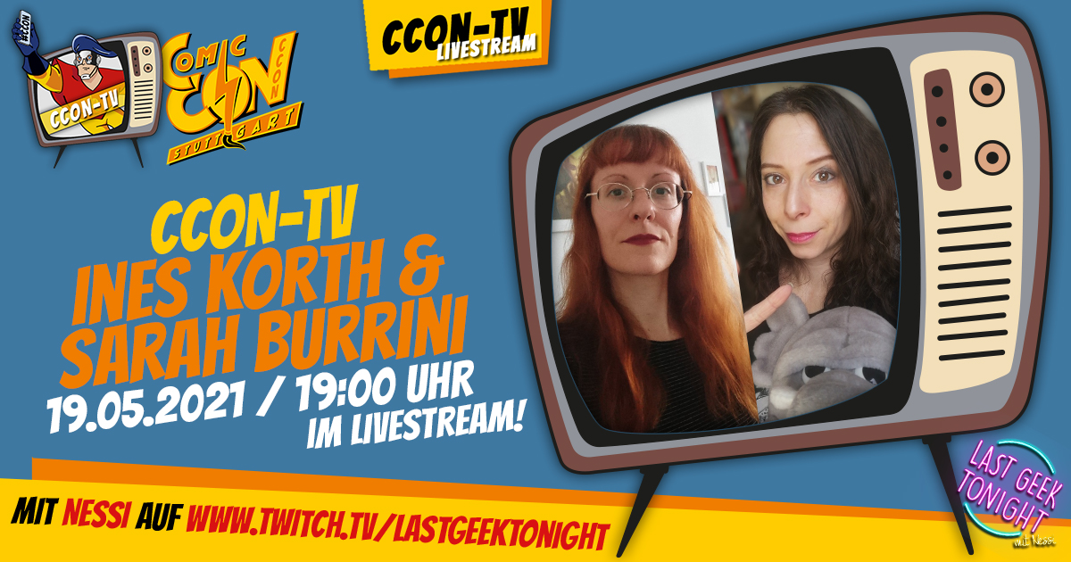 CCON TV - Episode 10: Ines Korth & Sarah Burrini