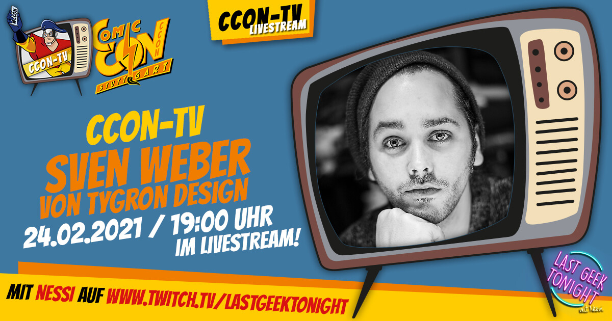 CCON TV - Episode 4 - Sven Weber von Tygron Design