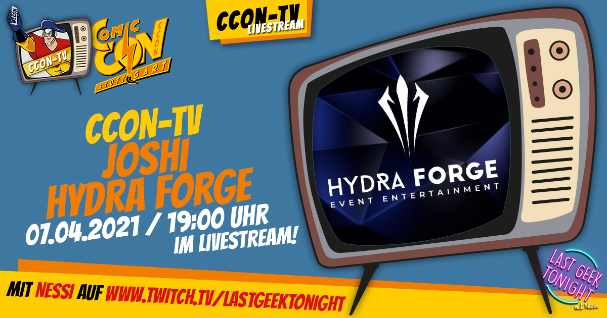 CCON TV - Episode 7: Joshi - Hydra Forge