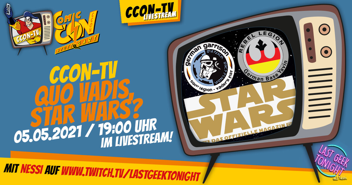 CCON TV - Episode 9: Quo vadis, Star Wars?