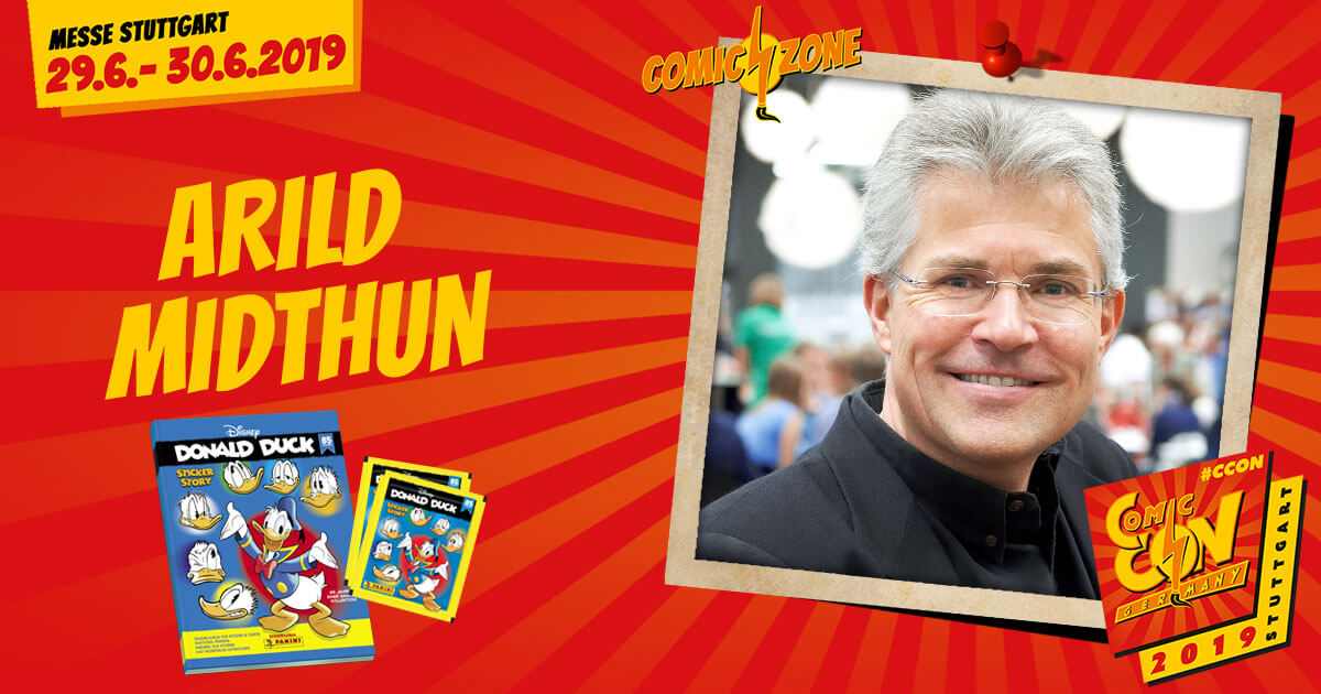 CCON | COMIC CON GERMANY 2019 | Comic-Zone Zeichner | Arild Midthun