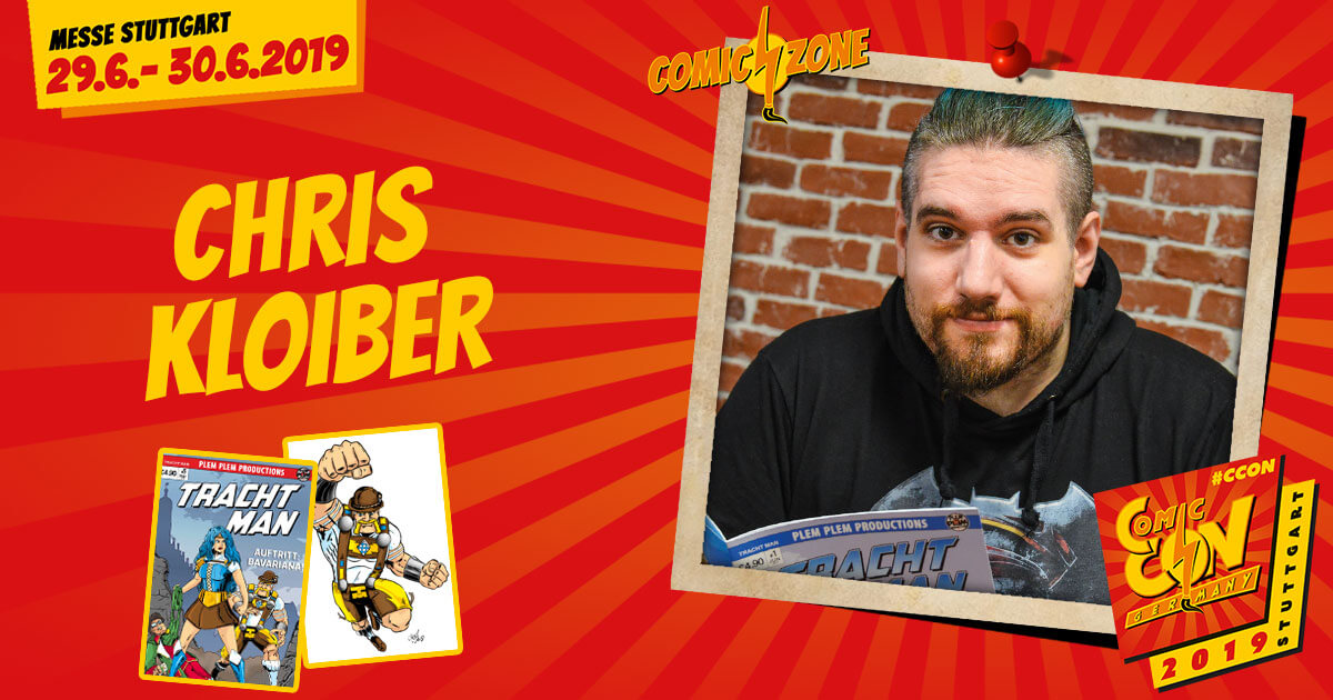 CCON | COMIC CON GERMANY 2019 | Comic-Zone Zeichner | Chris Kloiber