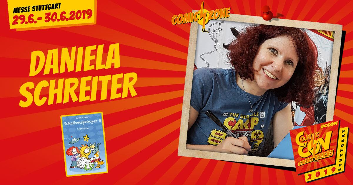 CCON   COMIC CON GERMANY 2019   Comic-Zone Zeichner   Daniela Schreiter