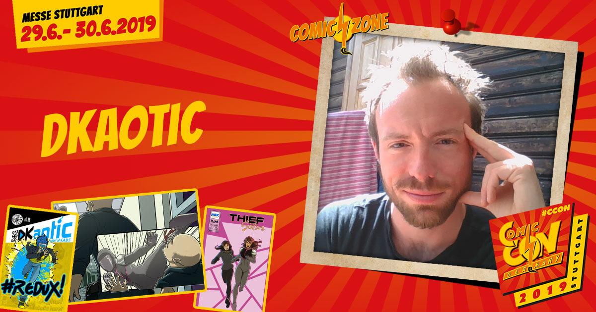 CCON | COMIC CON STUTTGART 2019 | Comic-Zone Zeichner | DKaotic