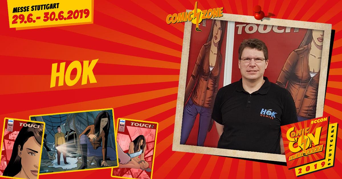 CCON | COMIC CON STUTTGART 2019 | Comic-Zone Zeichner | HOK