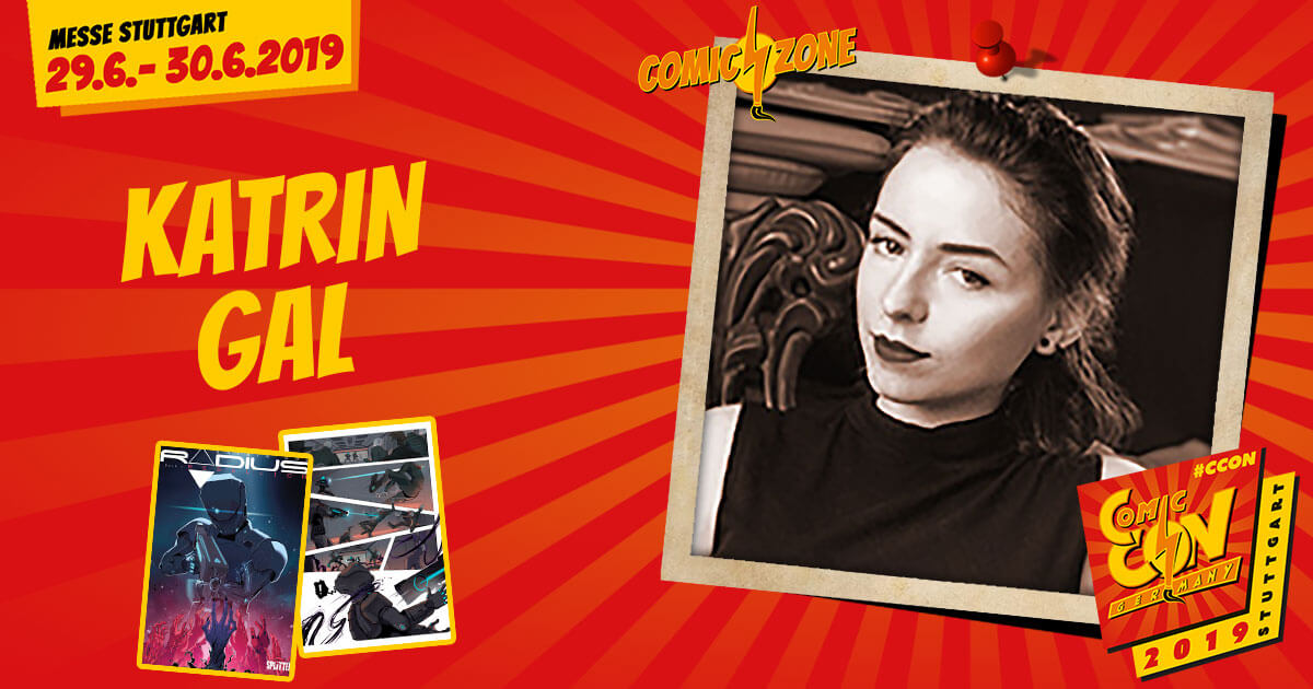 CCON | COMIC CON GERMANY 2019 | Comic-Zone Zeichner | Katrin Gal
