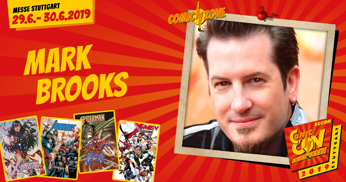 CCON | COMIC CON GERMANY 2019 | Comic-Zone Zeichner | Mark Brooks