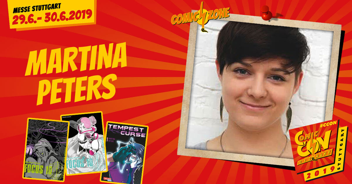 CCON | COMIC CON GERMANY 2019 | Comic-Zone Zeichner | Martina Peters