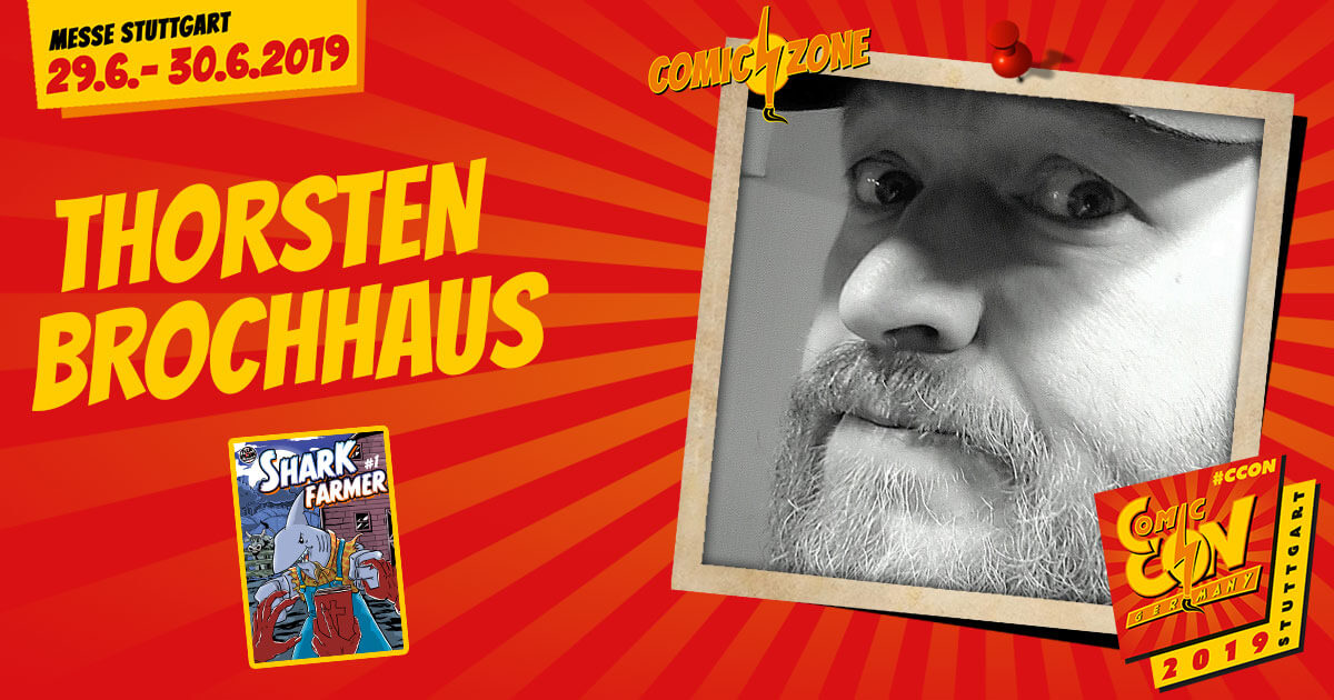 CCON | COMIC CON GERMANY 2019 | Comic-Zone Zeichner | Thorsten Brochhaus