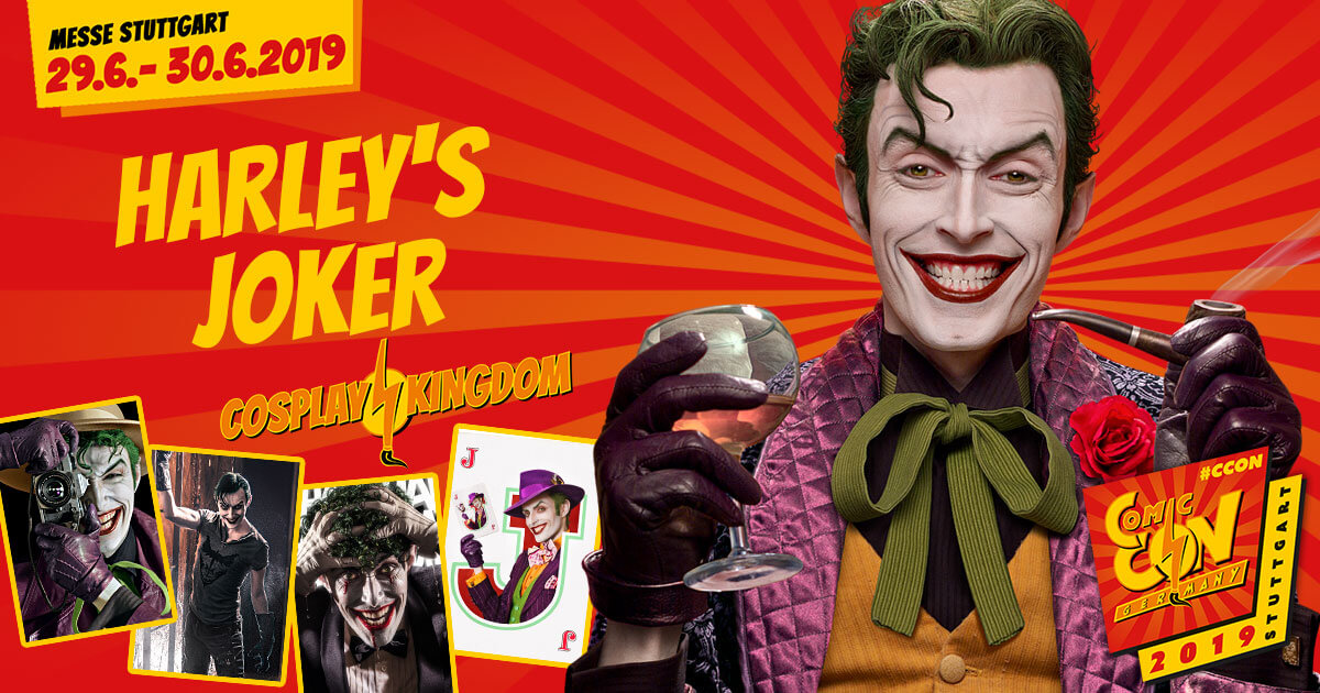 CCON | COMIC CON GERMANY 2019 | Cosplay Kingdom | Harley´s Joker