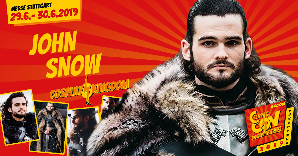 CCON | COMIC CON STUTTGART 2019 | Cosplay Kingdom | John Snow