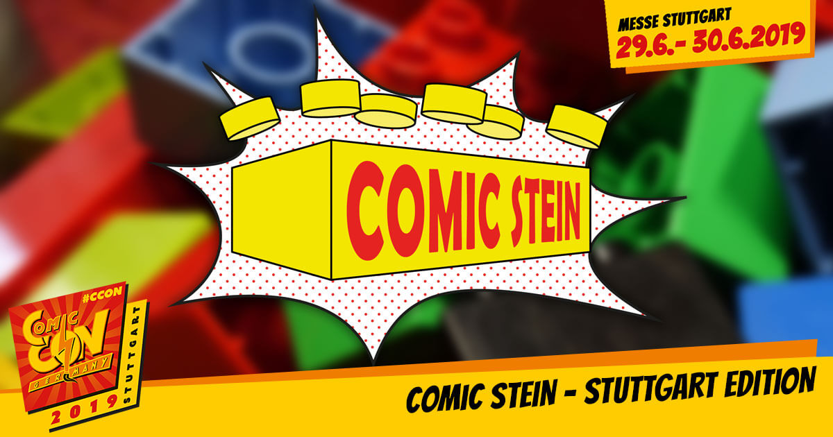CCON | COMIC CON GERMANY 2019 | Specials | Comic Stein - Stuttgart Edition