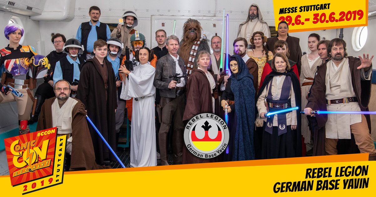 CCON | COMIC CON GERMANY 2019 | Specials | Rebel Legion