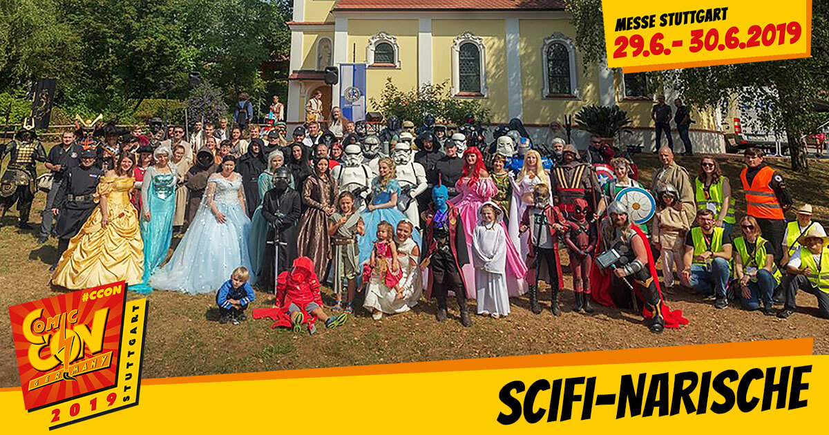 CCON | COMIC CON GERMANY 2019 | Specials | SciFi Narische