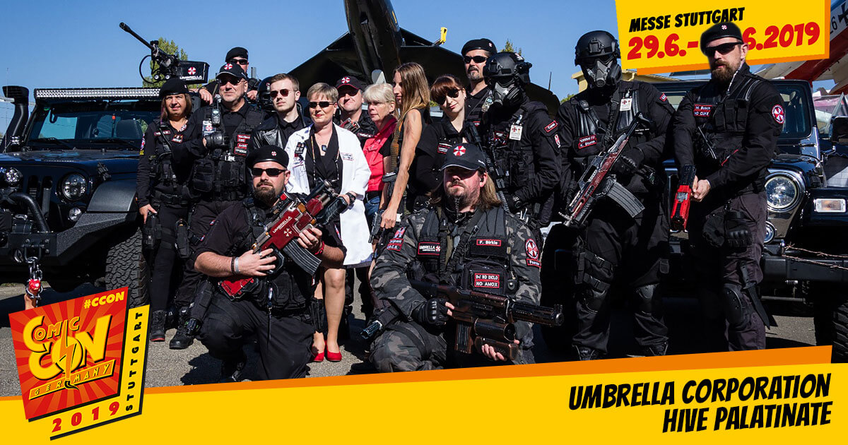 CCON | COMIC CON GERMANY 2019 | Specials | Umbrella Corporation Hive Palatinate
