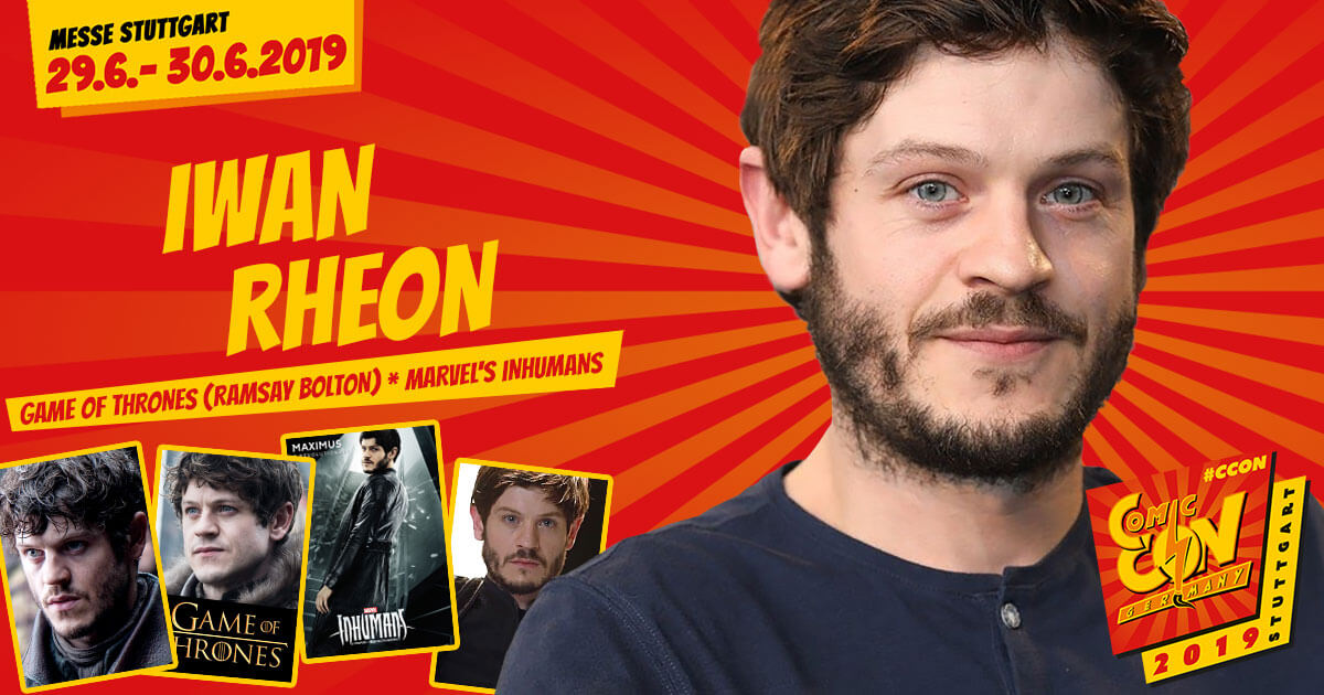 CCON | COMIC CON GERMANY 2019 | Stargast | Iwan Rheon