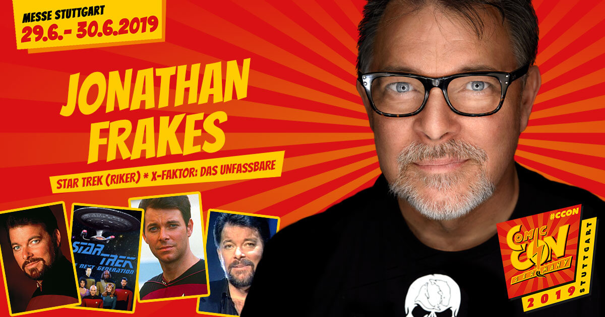 CCON | COMIC CON GERMANY 2019 | Stargast | Jonathan Frakes