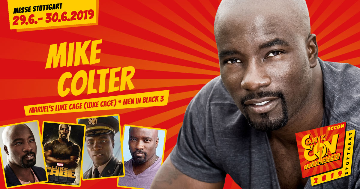 CCON | COMIC CON GERMANY 2019 | Stargast | Mike Colter