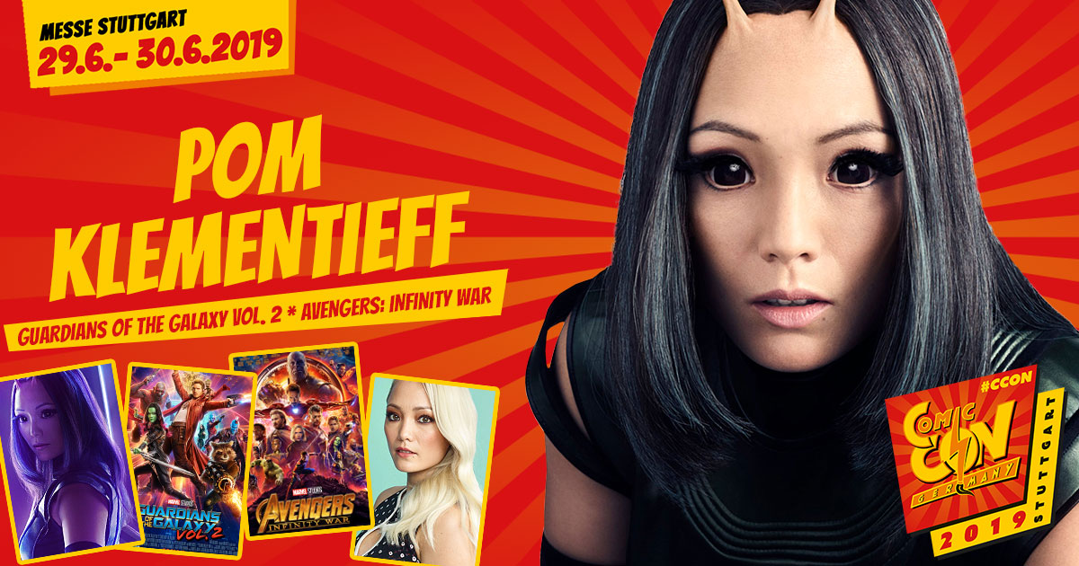 CCON | COMIC CON GERMANY 2019 | Stargast | Pom Klementieff