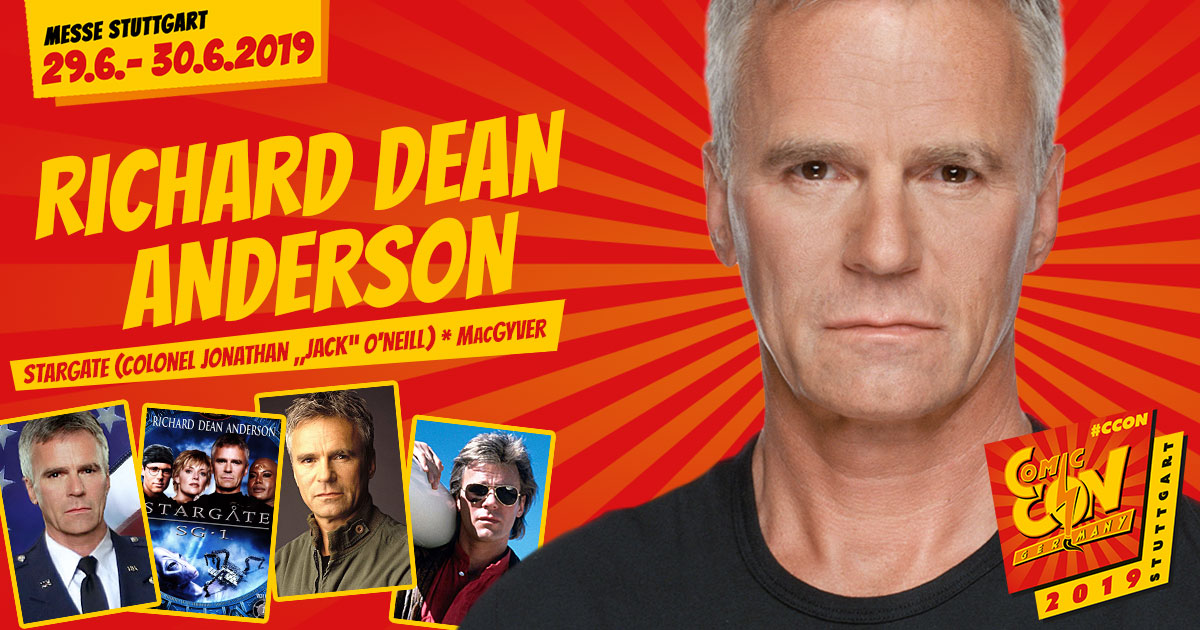CCON | COMIC CON GERMANY 2019 | Stargast | Richard Dean Anderson