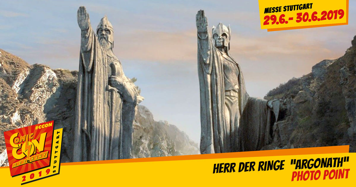 CCON | COMIC CON STUTTGART 2019 | Specials | Herr der Ringe Argonath Photo Point
