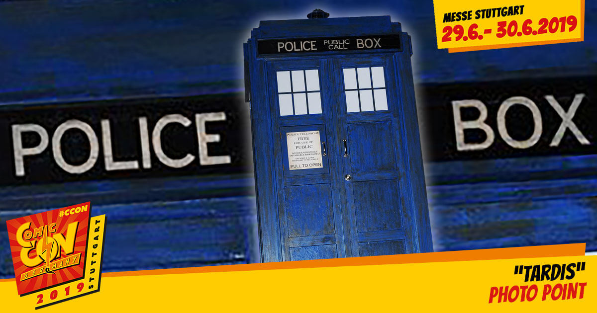 CCON | COMIC CON GERMANY 2019 | Specials | Dr. Who Tardis