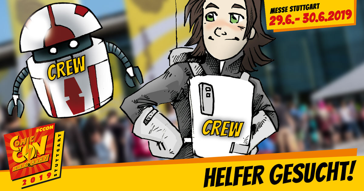 CCON | COMIC CON GERMANY 2019 | Infos | Helfer gesucht!