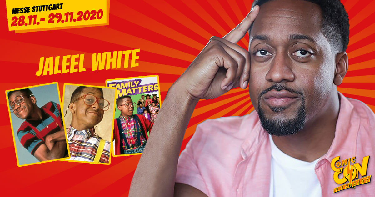 CCON | COMIC CON GERMANY 2020 | Stargast | Jaleel White