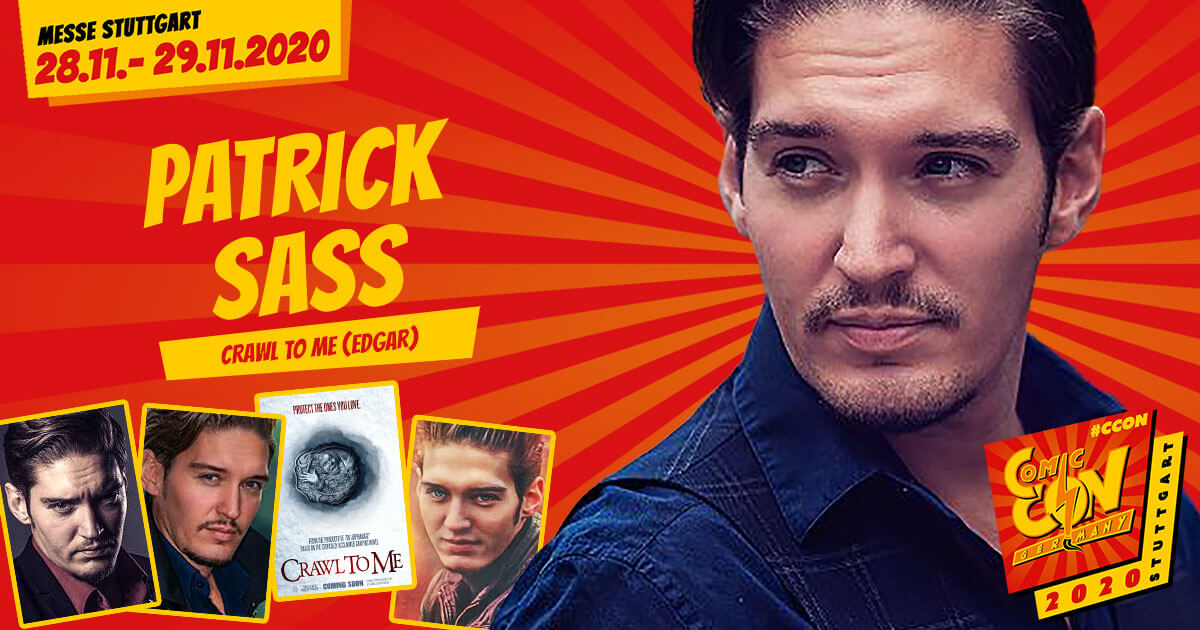 CCON | COMIC CON GERMANY 2020 | Stargast | Patrick Sass