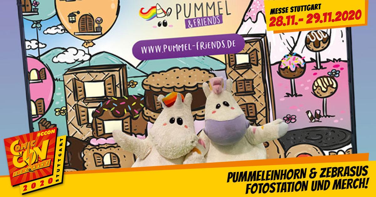 CCON | COMIC CON GERMANY 2020 | Infos | Pummeleinhorn & Zebrasus - Fotostation und Merchandise!