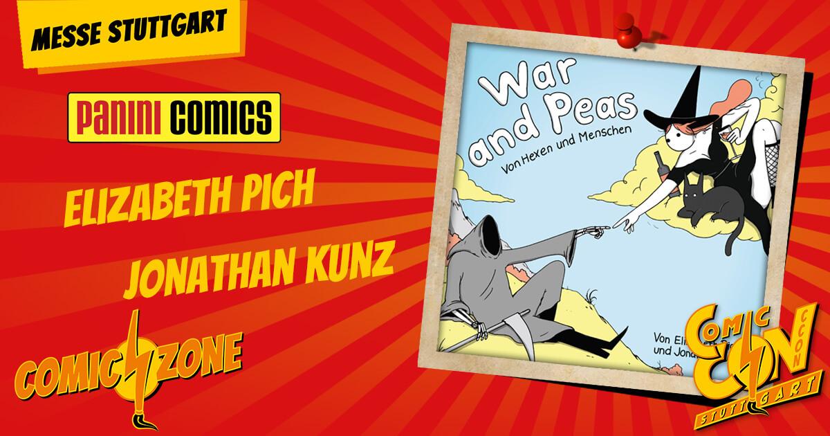 CCON   COMIC CON STUTTGART   Zeichner   Elizabeth Puch Jonathan Kunz