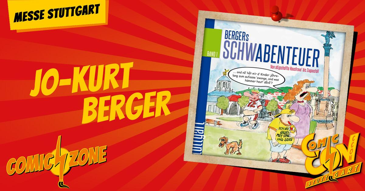 CCON   COMIC CON STUTTGART   Zeichner   Jo-Kurt Berger