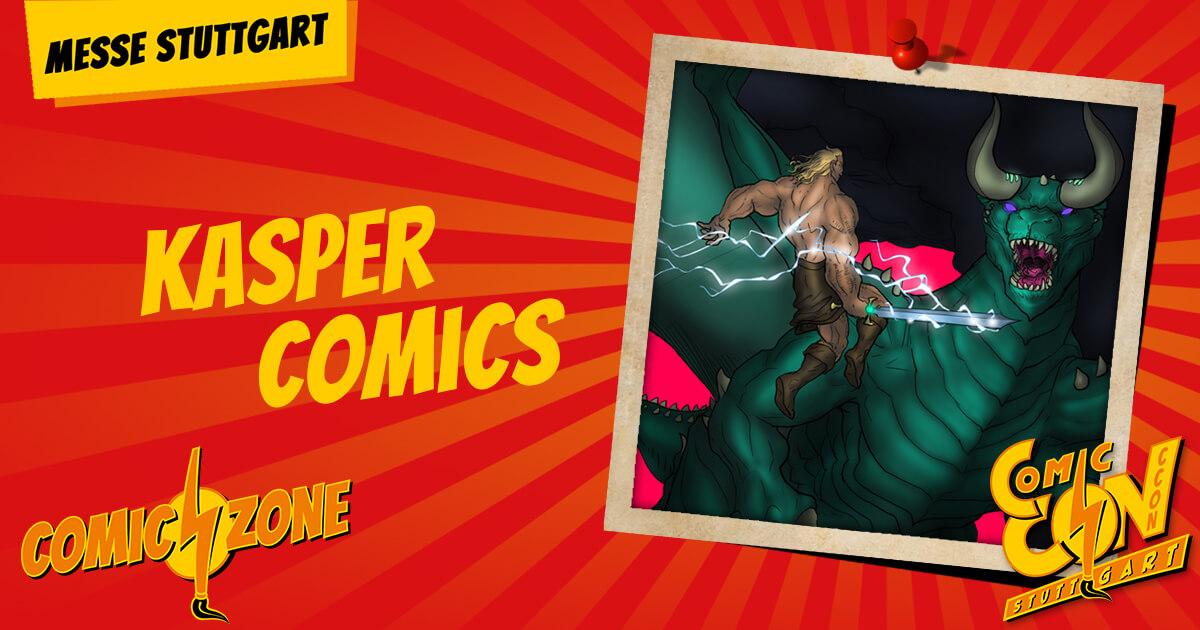 CCON   COMIC CON STUTTGART   Zeichner   Kasper Comics