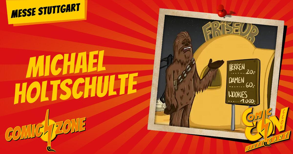 CCON   COMIC CON STUTTGART   Zeichner   Michael Holtschulte