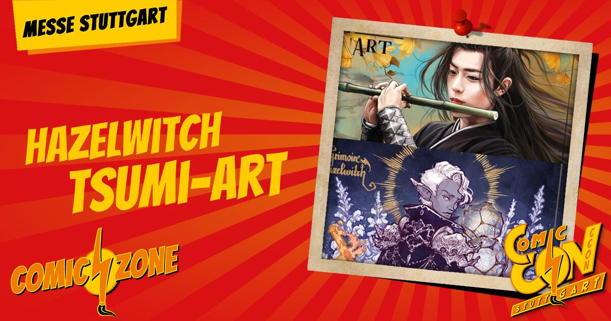 CCON   COMIC CON STUTTGART   Zeichner   Hazelwitch Tsumi Art