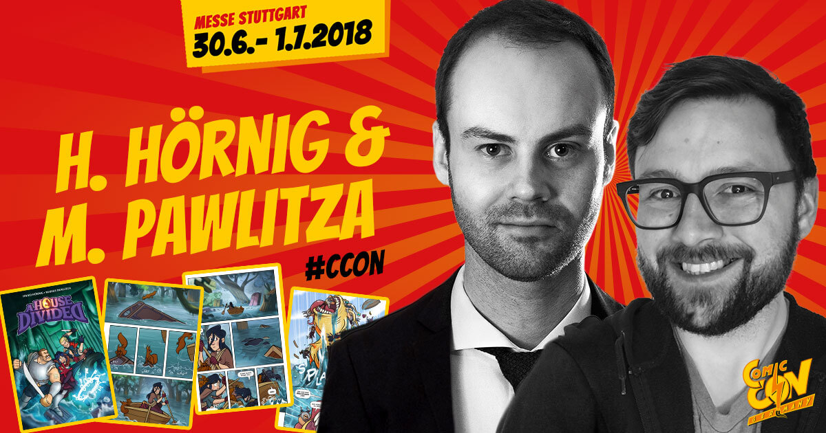 CCON | COMIC CON GERMANY | Artists | Haiko Hörnig & Marius Pawlitza