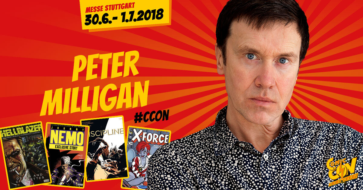 CCON | COMIC CON GERMANY | Artist | Peter Milligan