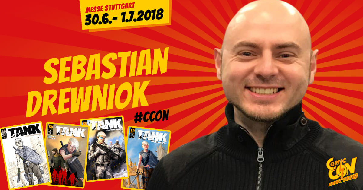 CCON | COMIC CON GERMANY | Artist | Sebastian Drewniok