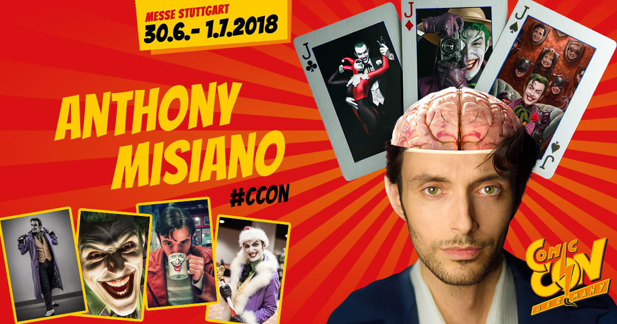 CCON | COMIC CON GERMANY | Cosplay | Anthony Misiano