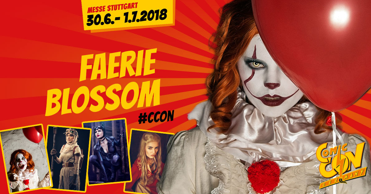 CCON | COMIC CON GERMANY | Cosplay | Faerie Blossom
