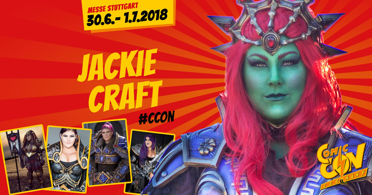 CCON | COMIC CON STUTTGART | Cosplay | Jackie Craft