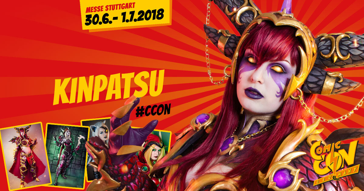 CCON | COMIC CON GERMANY | Cosplay | Kinpatsu