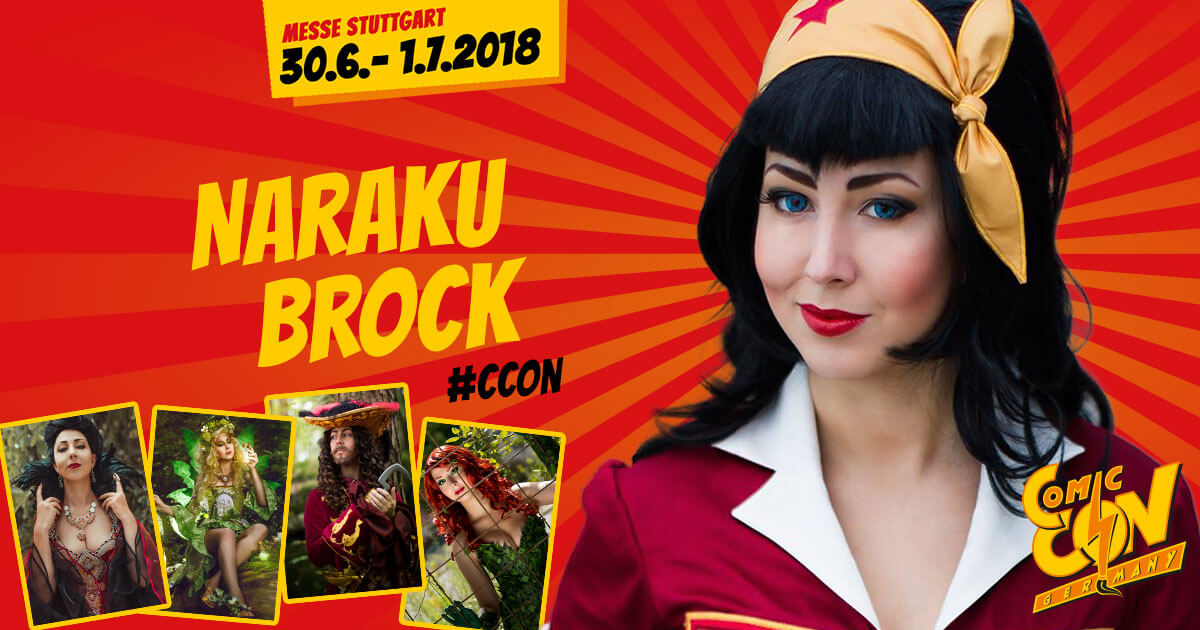 CCON | COMIC CON GERMANY | Cosplay | Naraku Brock