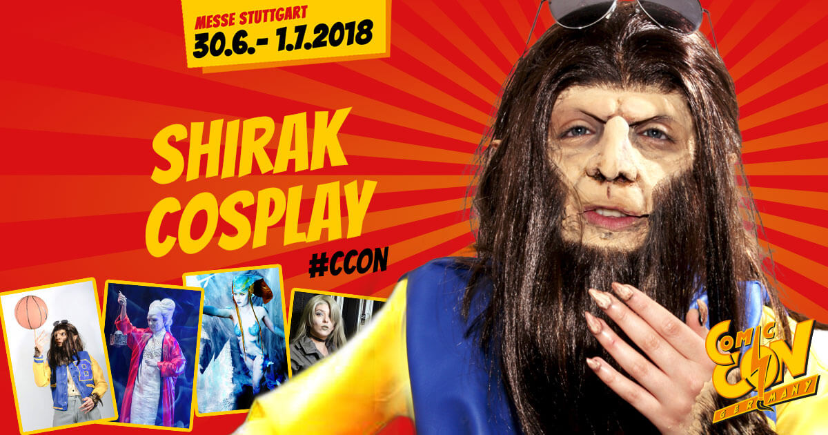CCON | COMIC CON GERMANY | Cosplay | Shirak Cosplay