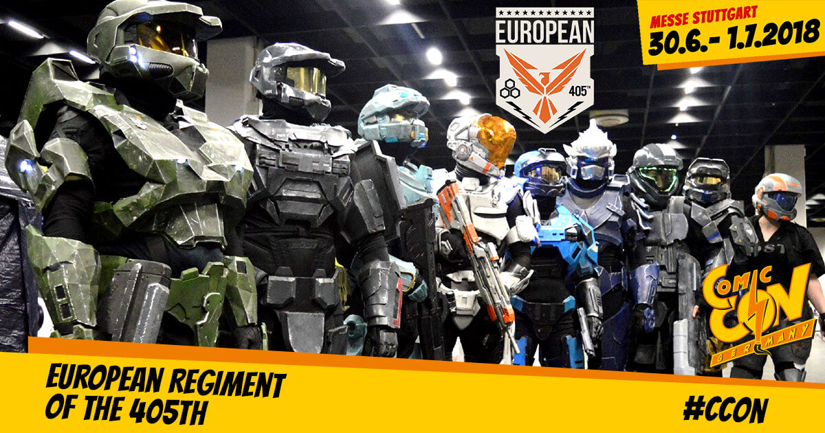 CCON | COMIC CON GERMANY | Free Special | European Regiment of the 405th