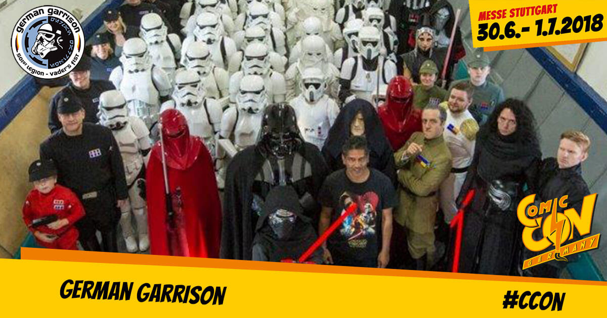 CCON | COMIC CON GERMANY | Free Special | German Garrison
