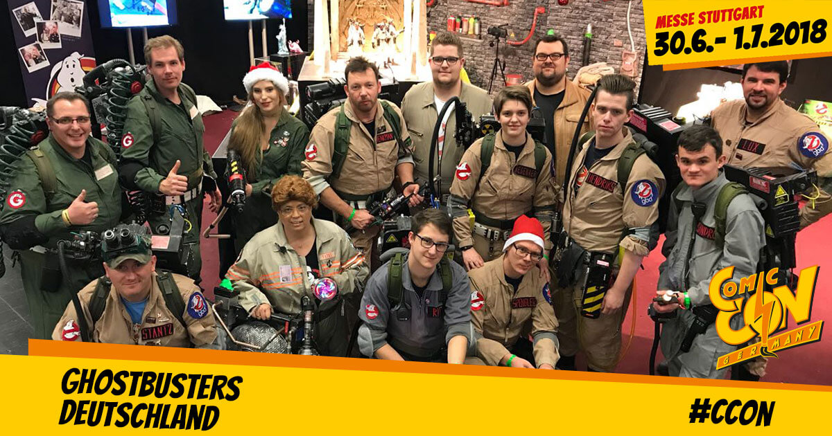 CCON | COMIC CON GERMANY | Free Special | Ghostbusters Deutschland