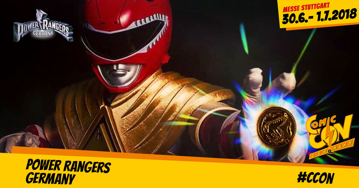 CCON | COMIC CON STUTTGART | Free Special | Power Rangers Germany