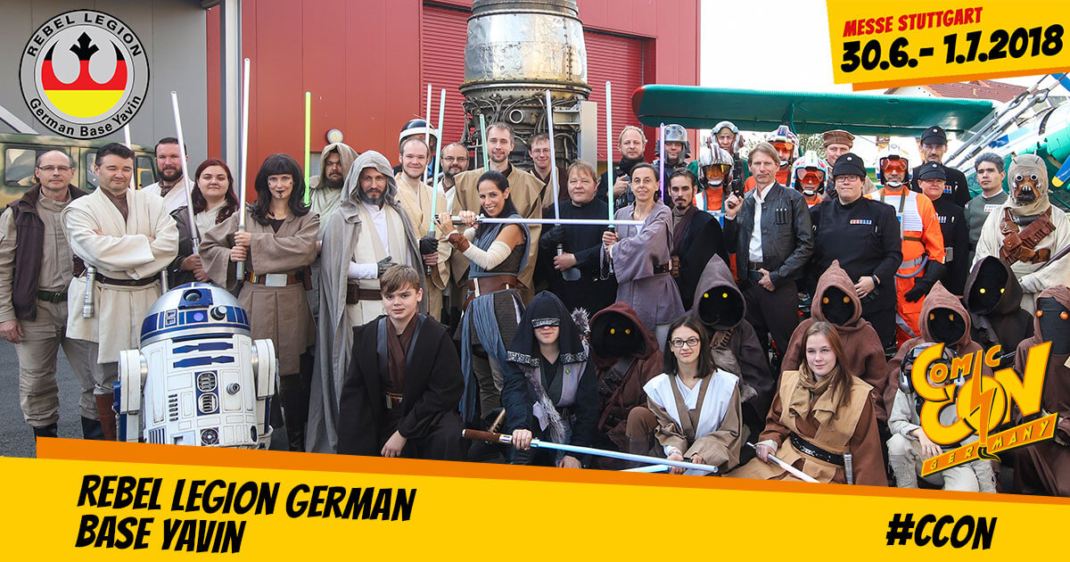 CCON | COMIC CON STUTTGART | Free Special | Rebel Legion German Base Yavin