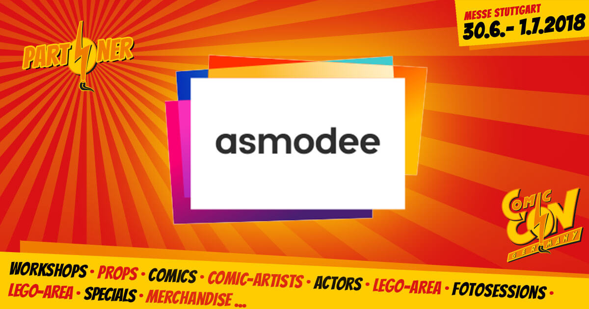 CCON | COMIC CON GERMANY | Partner | Asmodee